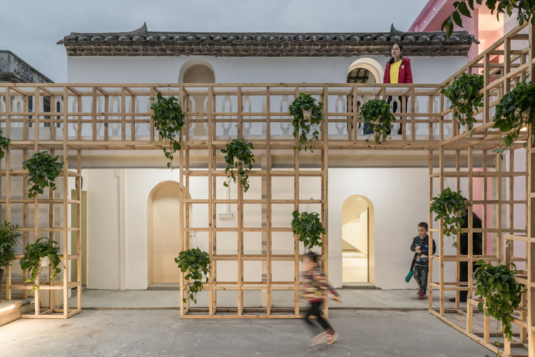 Village as Kitchen of UABB / ZHOU Wei + ZHANG Bin / Atelier Z+, 3# Exhibition Hall. Image © CreatAR Images