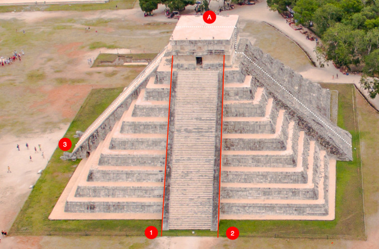 The Curious Design Enigmas of Chichén Itzá's Temple of Kukulkán, Courtesy of Ezra Schwartz