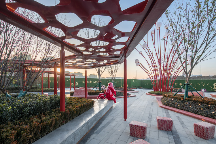 Hefei Wantou & Vanke Paradise Art Wonderland - Phase1 / ASPECT Studios, © arch-exist