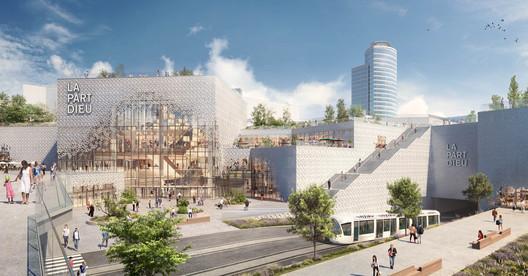 Construction Begins on MVRDV?s Redesign for Europe?s Biggest Urban Shopping Center