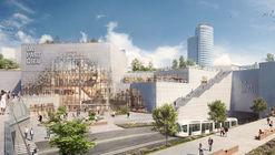 Comienza la construcción del rediseño de MVRDV para el centro comercial urbano más grande de Europa