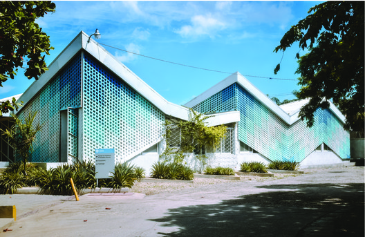 Gheskio Cholera Treatment Center, in Port-au- Prince, Haiti, designed by MASS Design Group – a project featured in Garrett Nelli's upcoming exhibit, In the Public Interest: Redefining the Architect's Role and Responsibility, at the Center for Architecture & Design. Image © Garrett Nelli