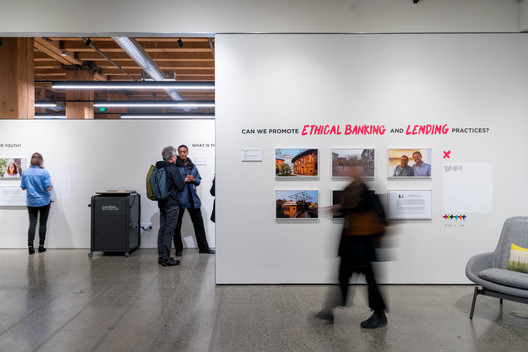 In the Public Interest, presented by AIA Seattle at the Center for Architecture & Design. Image © Trevor Dykstra