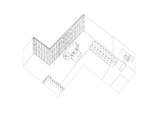 Palazzo Doria Pamphilj, Worm's Eye Axonometric