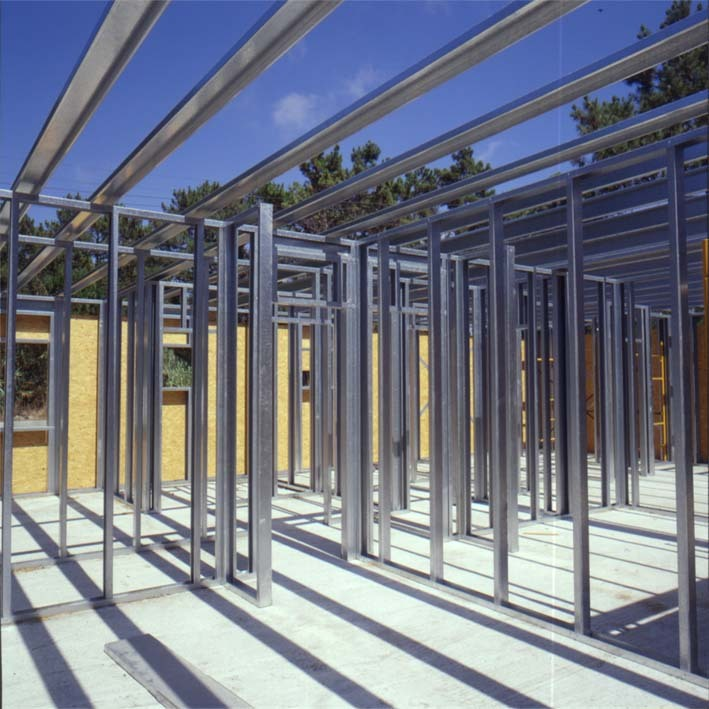 Gallery of Steel Frame and Wood Frame: The Benefits of Dry ...