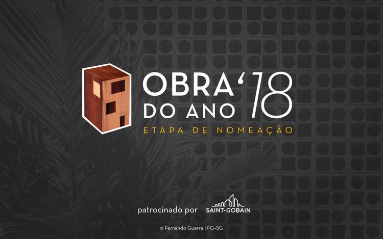 Votações abertas para o Prêmio Obra do Ano 2018