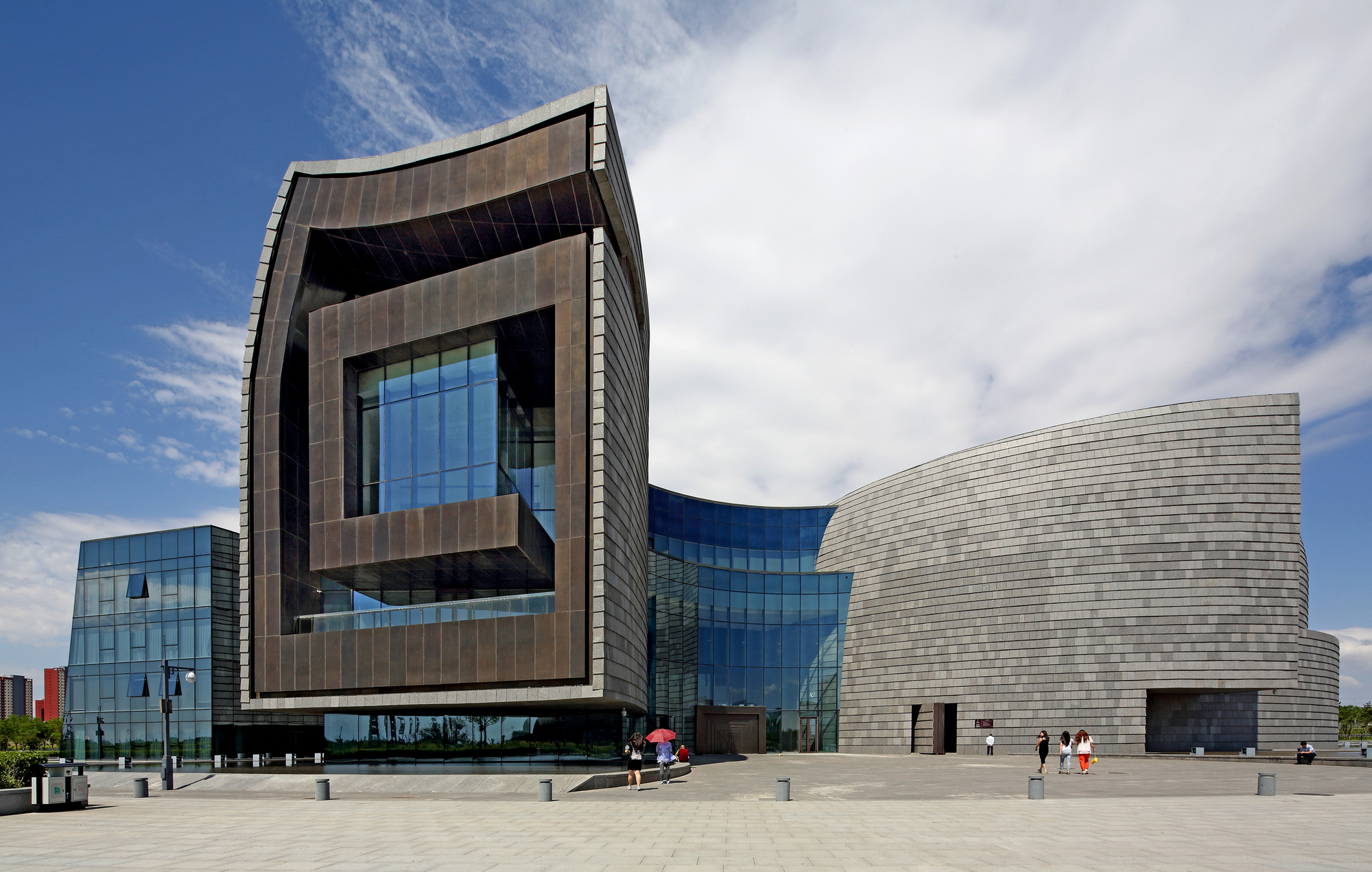 Datong Museum / China Architecture Design Group Land-based ...