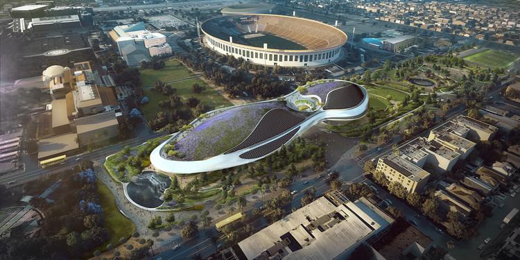 Museo de Arte Narrativo de George Lucas inicia su construcción en Los Angeles, Cortesía de MAD
