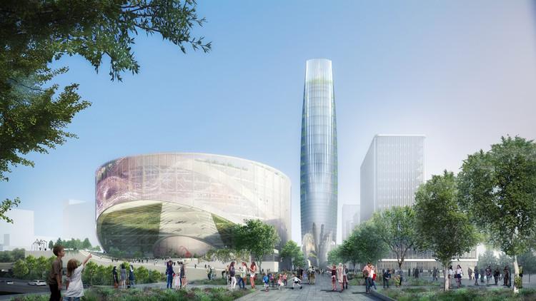 SOM gana concurso para diseñar plan maestro de 360.000 metros cuadrados en París, Cortesía de SOM