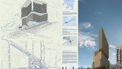 Mobil Arquitectos + ARUP, finalistas del concurso Puerta Las Condes con 'Apoquindo 6000'