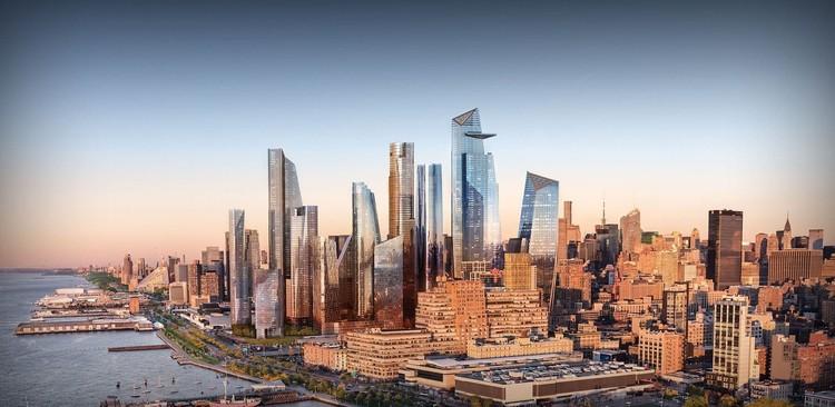 Quais são os escritórios de arquitetura que mais constroem em Nova Iorque?, Cortesia de Related-Oxford