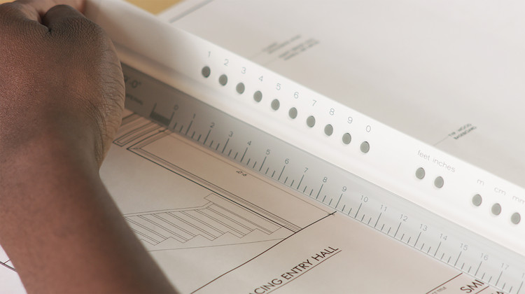 Digital Scaling Ruler Works as a Perfect Architect's Tool, Courtesy of Joanne Swisterski