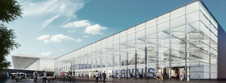 Pascall+Watson to Design Stansted Airport's Transformation, Courtesy of Pascall+Watson