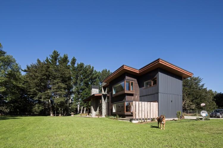Casa SeDu  / Pe+Br+Re arquitectos, © Nico Saieh