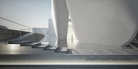A series of reflecting pools reference the river that historically consumed the site. Image Courtesy of Steven Holl