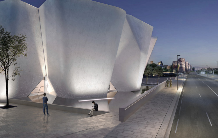 Great The White Concrete Museum Is Inspired By An Adjacent Fortress. Image  Courtesy Of Steven Holl Great Pictures