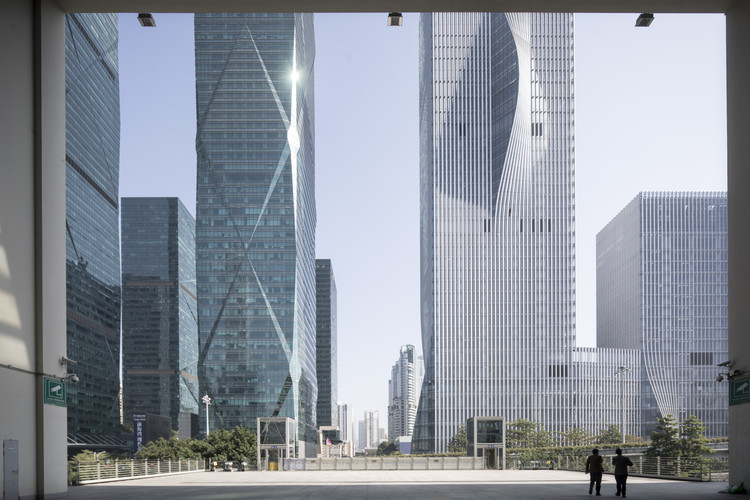 La Compañía de Energía de Shenzhen diseñada por BIG, bajo el lente fotográfico de Laurian Ghinitoiu, © Laurian Ghinitoiu