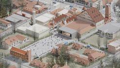 El festejo del lugar de encuentro: conoce el primer premio del concurso para revitalizar el área central de Villa General Belgrano