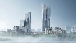 Aedas' Latest Mixed-Use Development Creates a City Inspired by 'The Cloud'