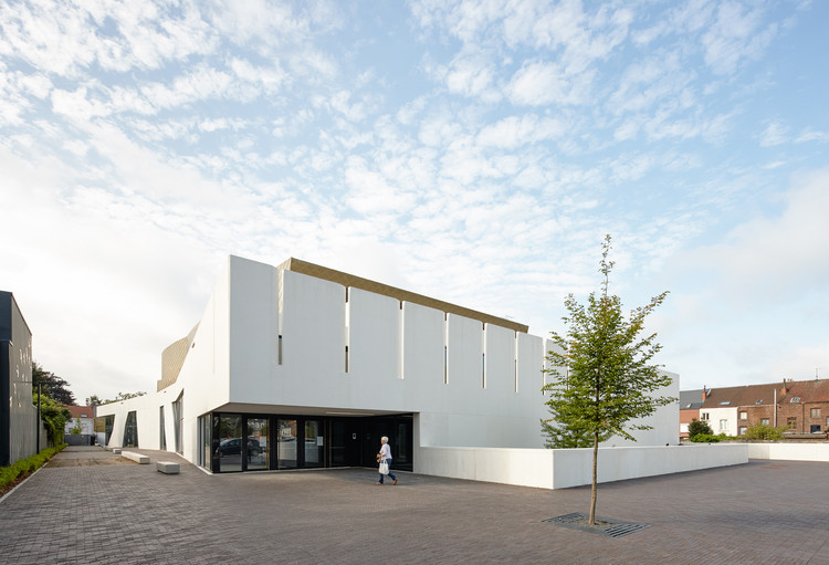 Cultural Center and Library 'De Factorij' / ebtca architecten & Archiles architecten, © Dennis De Smet