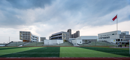 Stepped turf and landscape. Image © Hao Chen