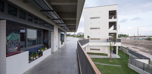 Teaching building. Image © Hao Chen