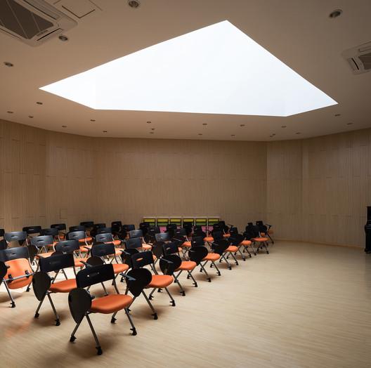 Music classroom. Image © Hao Chen