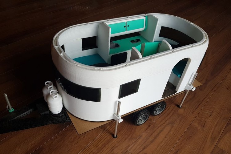 Campervan Breaks World Record for Largest Indoor 3D Print, Courtesy of Create Cafe 3D Print