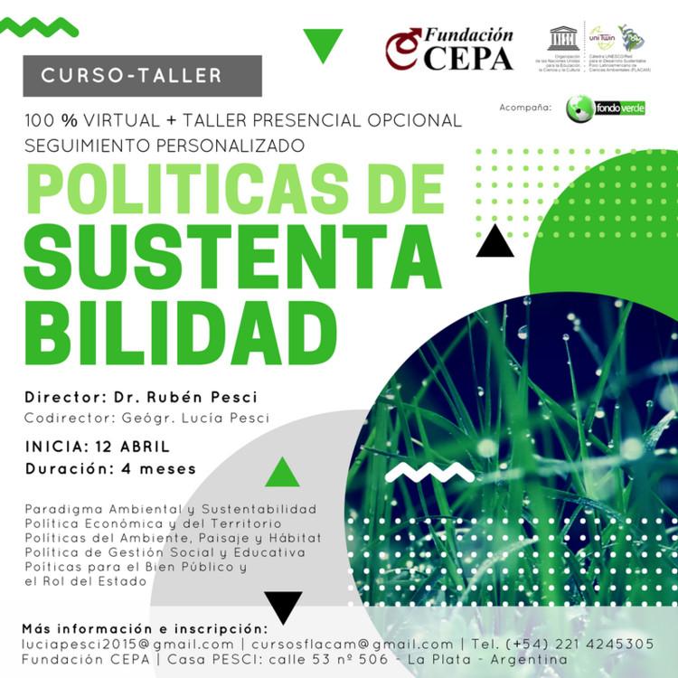 Curso-Taller de políticas de sustentabilidad