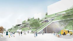 "Riken Yamamoto's ""Hill"" Wins Competition for Taiwan Art Museum"