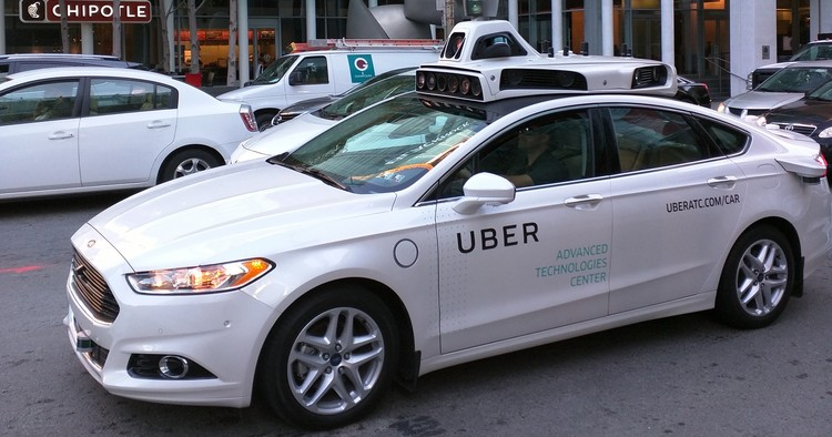 "Self-Driving Car Fatality Reveals Urgent Problems With ""Driverless"" Cities, © <a href='https://commons.wikimedia.org/wiki/File:Uber_self_driving_car.jpg'>Wikimedia user Diablanco</a> licensed under <a href='https://creativecommons.org/licenses/by-sa/3.0/deed.en'>CC BY-SA 3.0</a>"