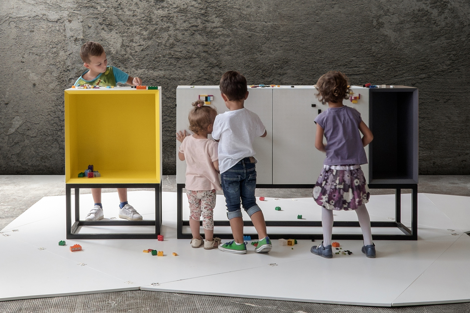 LEGO Just Got Stylish: Modular Furniture To Bring Out Your Inner Child,Courtesy  Of