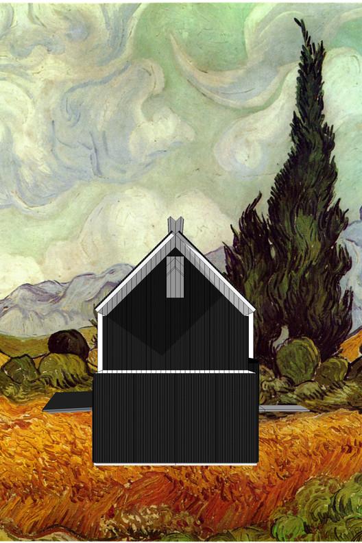 Van Gogh Photomontage 2