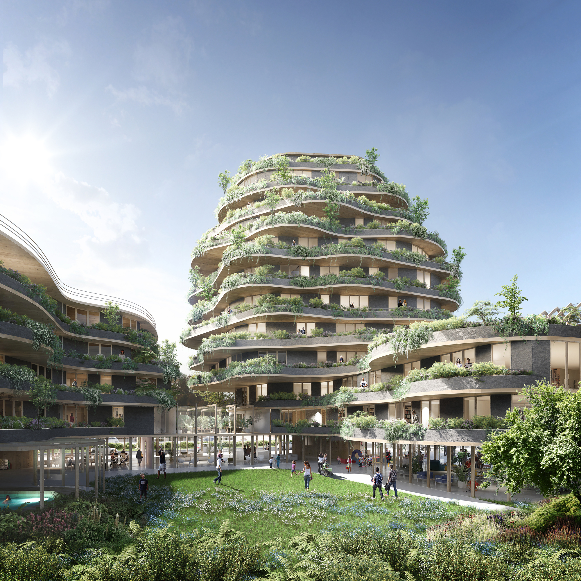 Inter Generational Mixed Use Project Wins Imagine Angers