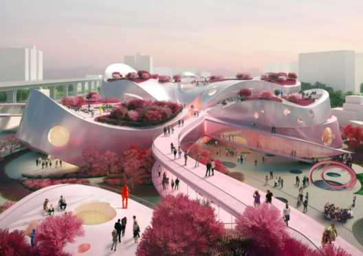 Courtesy of MVRDV + JJP