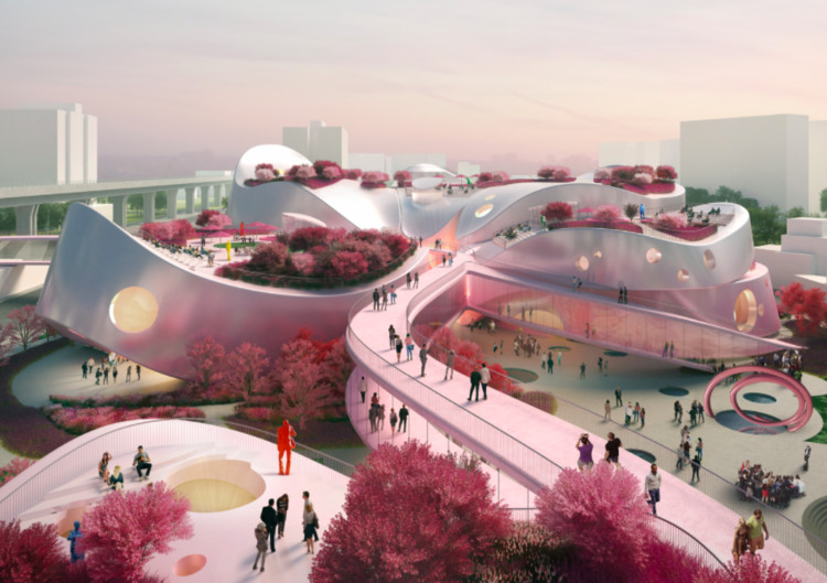 MVRDV Releases Alternative Proposal for Taoyuan Museum of Art, Courtesy of MVRDV + JJP