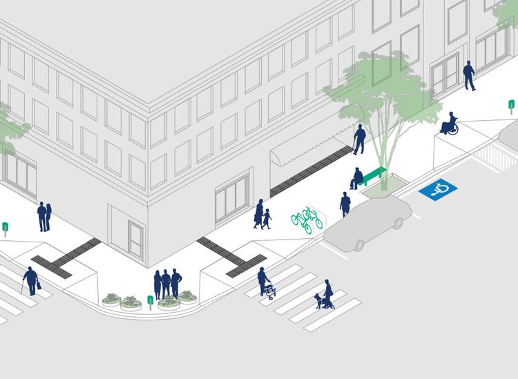 Calçada Certa: Prefeitura de Florianópolis disponibiliza manual ilustrado sobre desenho de calçadas, via Calçada Certa - Prefeitura de Florianópolis