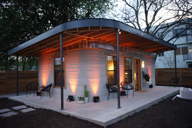 In World S First 3 D Printed Home Community Houses Will