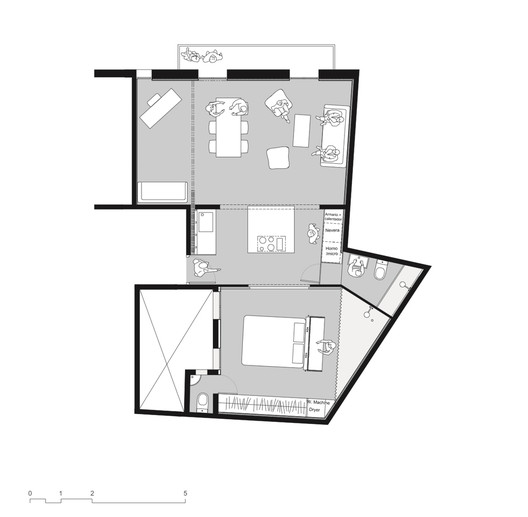 Restauración Old Town / Habitan Architecture