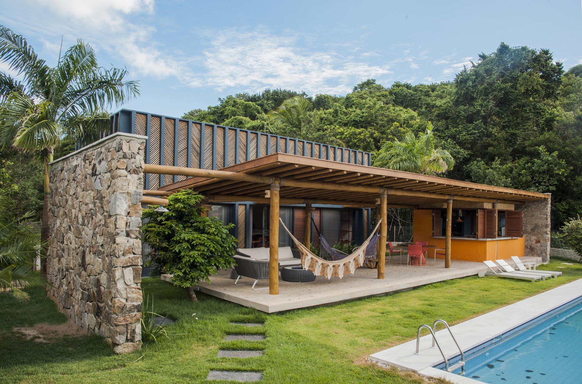 Casa Bambu Vilela Florez Archdaily Brasil
