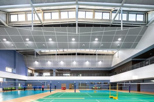 Gymnasium interior. Image © arch-exist