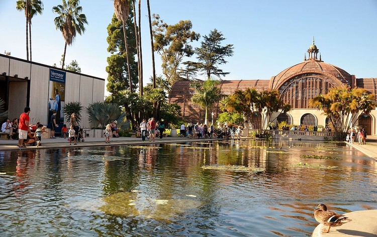Balboa Park, a public space in downtown San Diego, CA. Image © <a href='https://commons.wikimedia.org/wiki/File:Balboa_Park,_San_Diego,_CA,_USA_-_panoramio_(124).jpg'>Panoramio user Roman Eugeniusz via Wikimedia</a> licensed under <a href='https://creativecommons.org/licenses/by-sa/3.0/deed.en'>CC BY-SA 3.0</a>