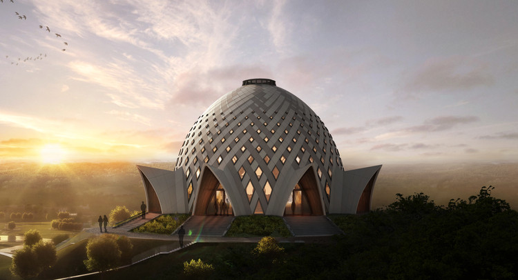 Images Released For Baháu0027í House Of Worship In Papua New Guinea, Courtesy Of