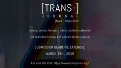 Call For Submissions: [TRANS-] media