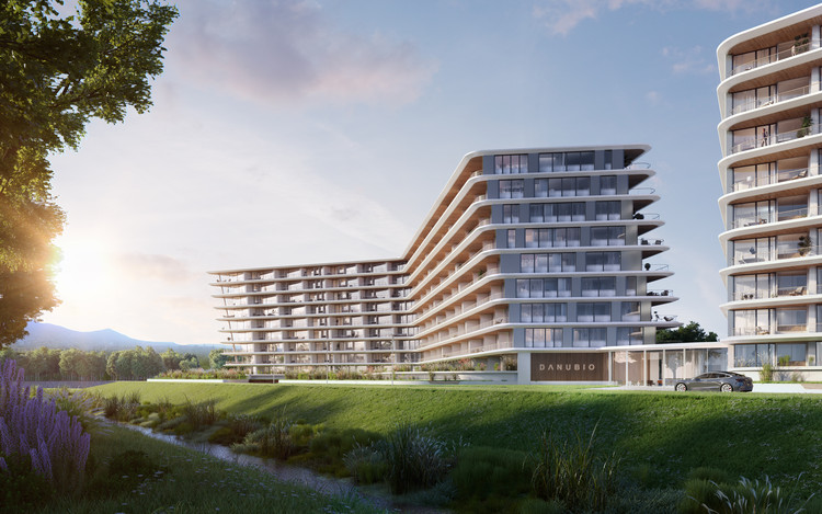 T2.a Architects Uses Algorithm to Design Customizable Apartment Complex, Courtesy of DANUBIO/T2.a Architects