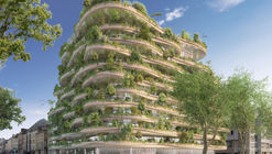 Vincent Callebaut Architectures Wins Public Vote for Millennial Vertical Forest Competition