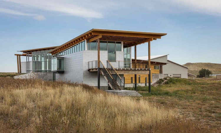 Rangeland Laboratory Facility / BVH Architecture, © Paul Crosby