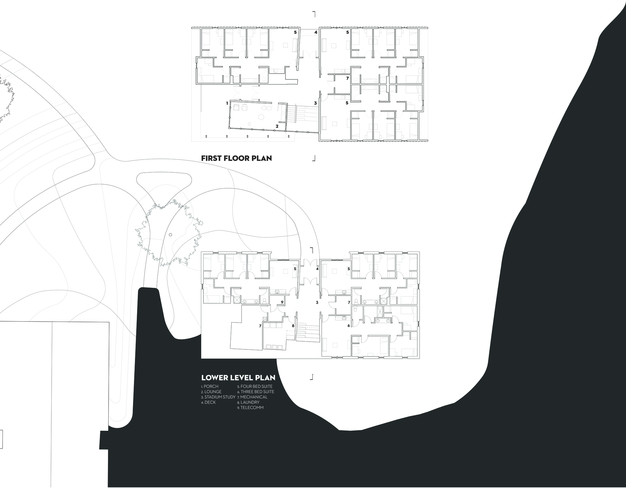 Gallery Of Eagle Ridge Student Housing Bvh Architecture 18