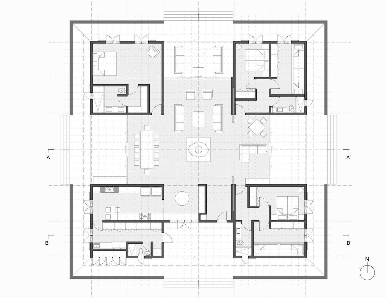 Gallery of Twin Houses / Olimpia Lira - 13