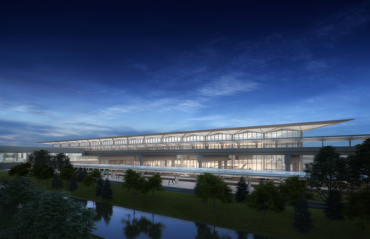 Grimshaw to Lead Design of Newark Liberty International Airport Terminal, Courtesy of Grimshaw Architects